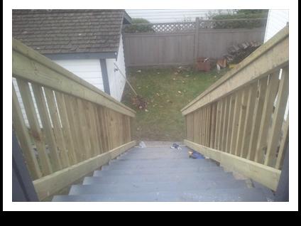 Build Decking Stairs Repair Wood Fences Decks Balconies